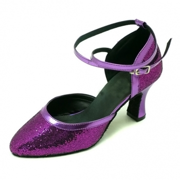 Water Cube Colorful flash of Women's modern shoes