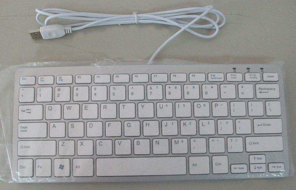 Apple Wired Mini Keyboard Mini/thin Wired Keyboard For